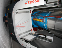 RayScan Mobile Positionierung